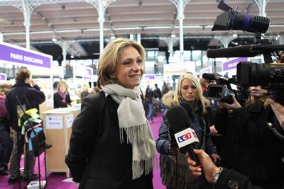 Valérie Pécresse visite le salon Admission PostBac © M.E.S.R