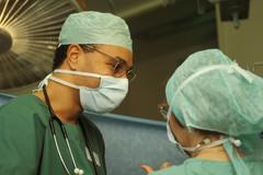 Scialytique,ambiance-bloc-opératoire