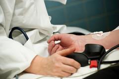 Examen-écho-Doppler-de-l'artère-brachiale