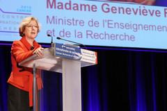Discours de Geneviève Fioraso lors des 4e rencontres de recherche biomedicales