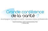 Discours de Thierry Mandon à l'occasion de la Grande conférence de la santé