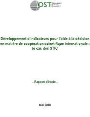 Rapport OST - décision internationale - STIC - 2008