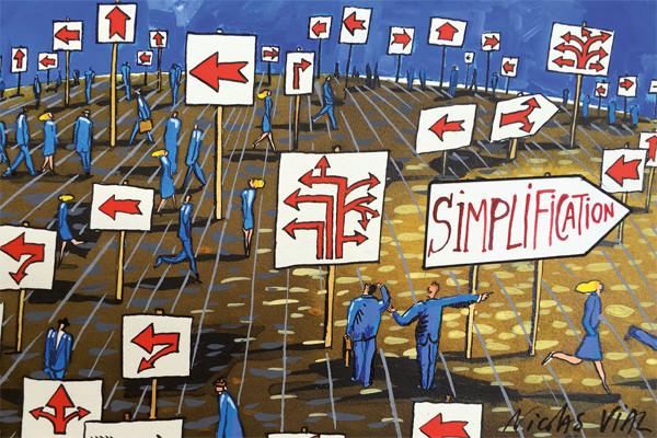 50 premières mesures de simplification de l'ESR