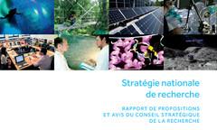 Rapport de propositions : Stratégie nationale de recherche