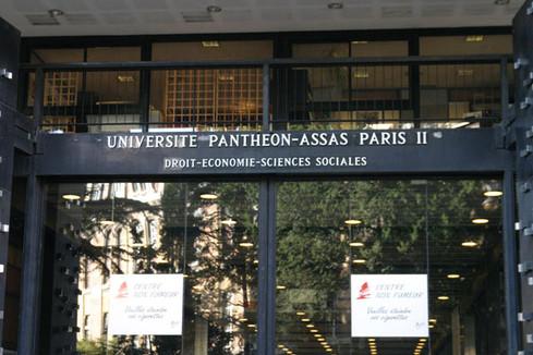 Condamnation des actes antisémites à l'université Panthéon-Assas