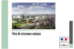 Vers de nouveaux campus