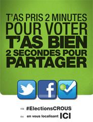 Affichette bureau de vote