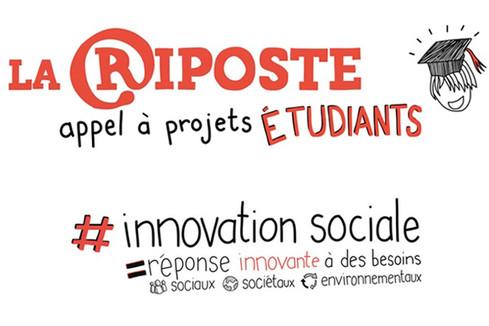 Appel à projets : étudiants, participez à LA RIPOSTE !