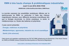 RMN THC et problématiques industrielles