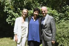 Françoise Nyssen, Frédérique Vidal et Jean-Michel Blanquer