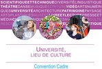 Signature de la convention cadre Université, lieu de culture