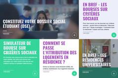 Le portail des services, démarches et actualités de la vie étudiante