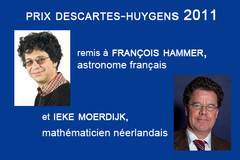Remise du prix scientifique Descartes-Huygens