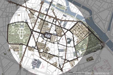 Le Grand Quartier Latin, Paris ©Antoine Grumbach & Associés