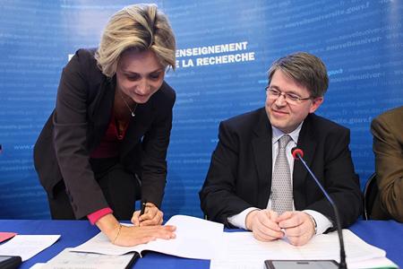 Signature des conventions d'ingénierie des projets