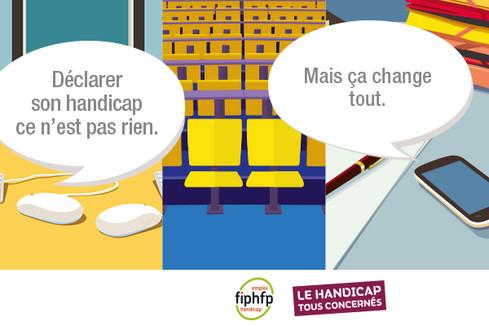 Campagne Le handicap, tous concernés (Archives 2015)