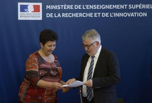 Remise du rapport Réformer le premier cycle de l'enseignement supérieur et améliorer la réussite des étudiants: discours de Frédérique Vidal