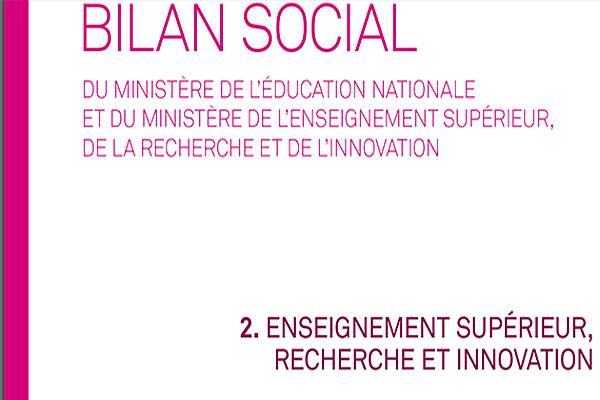 Bilan Social 2016 2017 Partie 2 L Enseignement Superieur Et La