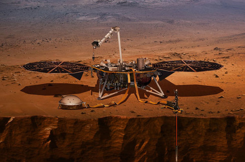 Atterrissage réussi de la mission InSight sur Mars
