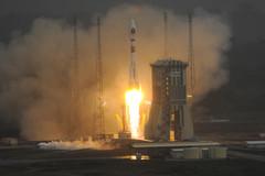 La fusée Soyouz, décollage du 21/10/2011