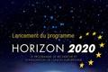 Lancement du programme Horizon 2020