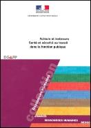 image brochure acteur et instances santé et sécurité au travail dans la fonction publique