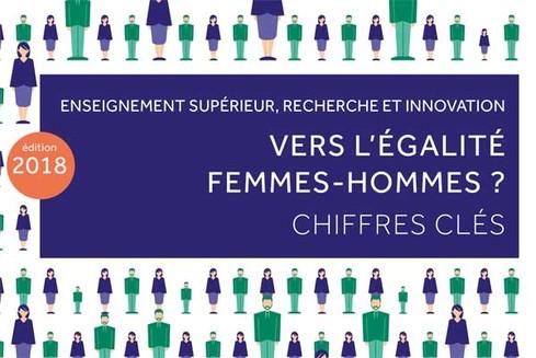ESRI : chiffres-clés de l'égalité femmes-hommes (parution 2018)