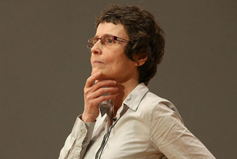 Claire Voisin, médaille d'or du C.N.R.S.