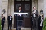 Passation de pouvoirs entre Thierry Mandon et Frédérique Vidal