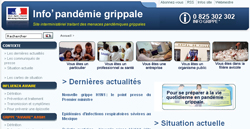 Site info pandémie grippale