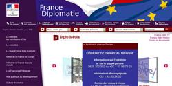Site du ministère des Affaires étrangères