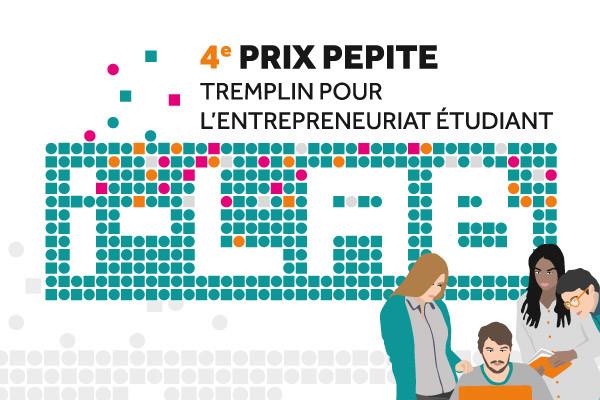 4e Prix Pepite Tremplin pour l'entrepreneuriat étudiant