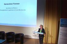 Voir la vidéo : Geneviève Fioraso clôture le colloque S.N.R.
