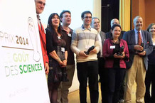 Voir la vidéo : Remise du prix Le Goût des sciences 2014