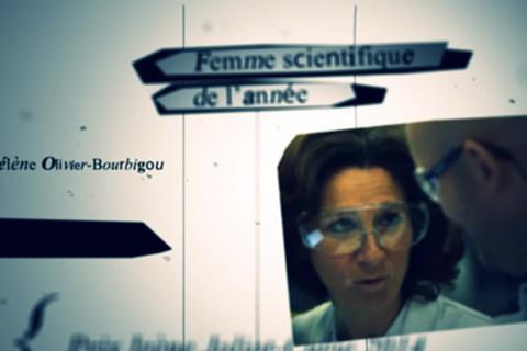 Hélène Olivier-Bourbigou Prix de la Femme scientifique de l'année