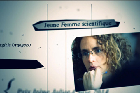 Virginie Orgogozo Prix de la Jeune Femme scientifique