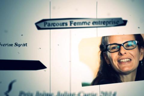 Sigrist Prix du Parcours Femme entreprise
