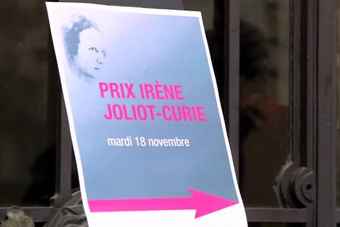 Remise du prix Irène Joliot-Curie 2014