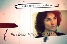 Voir la vidéo : Rut Carballido Lopez : Prix de la Jeune Femme scientifique