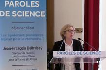Voir la vidéo : Déjeuner débat avec J-F Delfraissy
