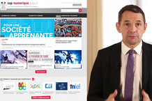 Voir la vidéo : Allocution de Thierry Mandon : lancement de sup-numerique