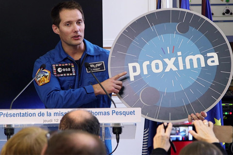 Mission Proxima en novembre 2016 pour Thomas Pesquet, astronaute français de l'E