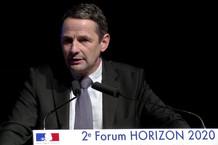Voir la vidéo : H2020 intervention de Thierry Mandon