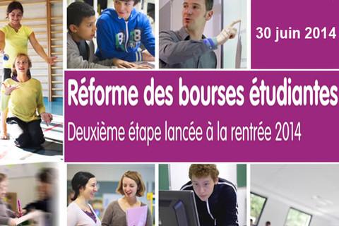 Réforme des bourses étudiantes