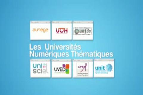 Présentation des Universités numériques thématiques