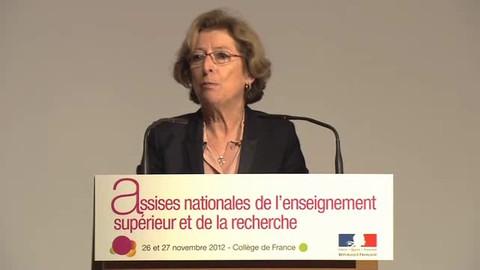 Assises nationales : discours d'ouverture de Geneviève Fioraso