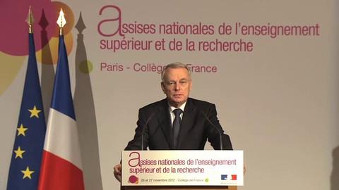 Assises nationales : discours de Jean-Marc Ayrault, Premier ministre